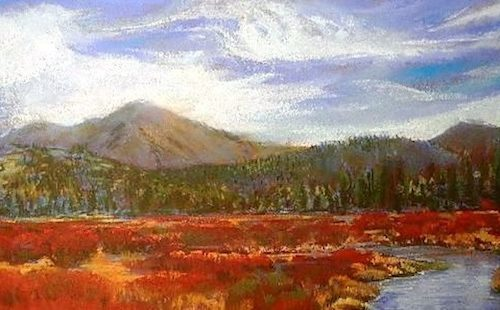 Hope Valley Fall – Pastel